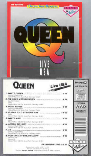 Queen - Live In USA