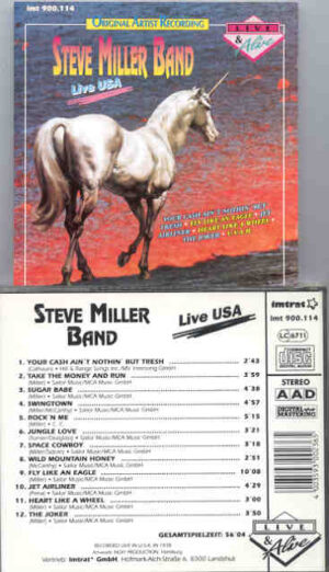 Steve Miller Band - Live USA ! ( Live During the 1978 US Tour )