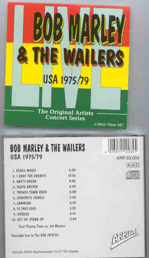 Bob Marley - Live In USA 1975 - 1979