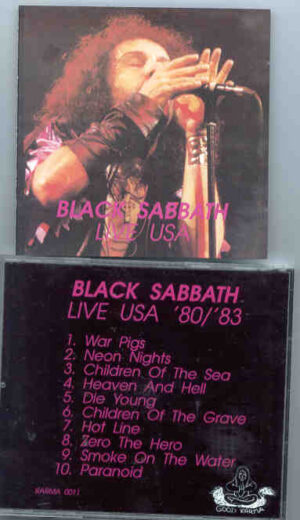 Black Sabbath - Live USA 1980 - 1983 ( Black Sabbath )