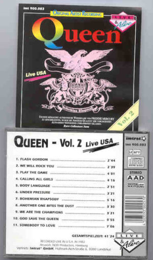 Queen - Live In USA Vol. 2