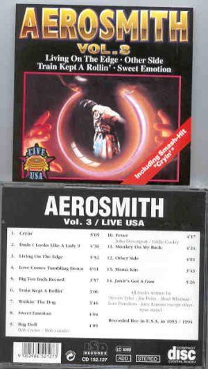 Aerosmith - Live in USA 1993 / 1994 Vol. 3