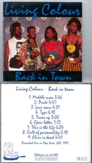 Living Colour - Back In Town