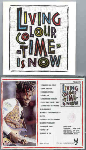 Living Colour - Time Is Now ( Live In Europe )  ( Great Dane )