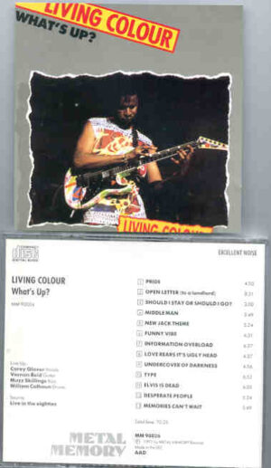 Living Colour - What's Up ? ( Live in the 80's )