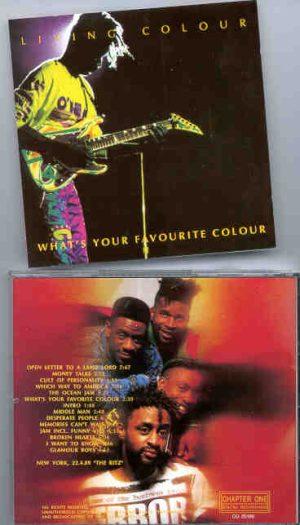 Living Colour - What's Your Favourite Colour  ( Chapter One Recs )