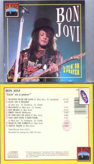 Bon Jovi - Living On A Prayer ( On Stage )