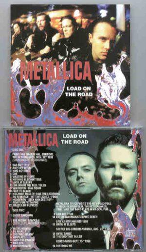 Metallica - Load On The Road ( 2 CD!!!!! SET ) ( Several Live rare Tracks 1996 )