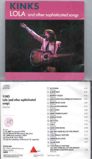 The Kinks - Lola & Other Sophisticated Songs ( Triangle Recs. )