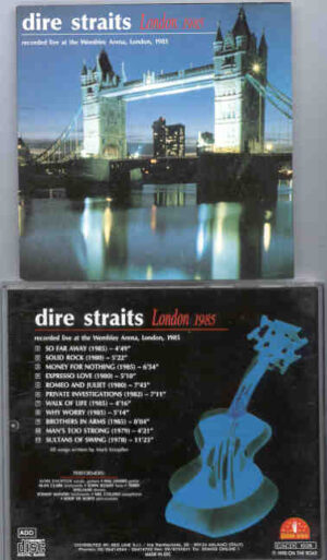 Dire Straits - London 1985 ( Live at The Wembley Arena , London , UK , 1985 )