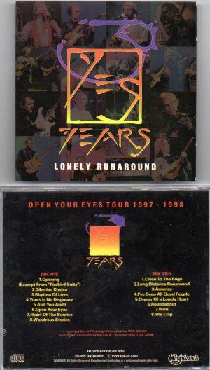 Yes - Lonely Runaround ( Highland ) ( 2 CD!!!!! SET ) ( Pittsburg , Pennsylvania , USA , June 24th , 1998 )