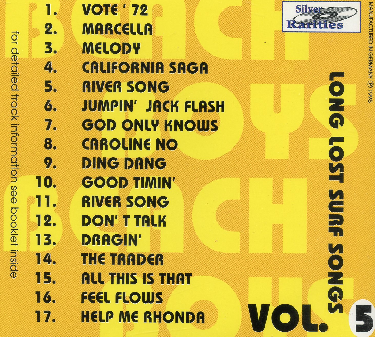 Long Lost Surf Songs Vol. 5 ( Silver