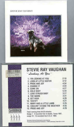 Stevie Ray Vaughan - Looking At You ( Flashback ) ( Live in Austin , Texas , USA , 1987 , Plus Bonustracks USA '84 )