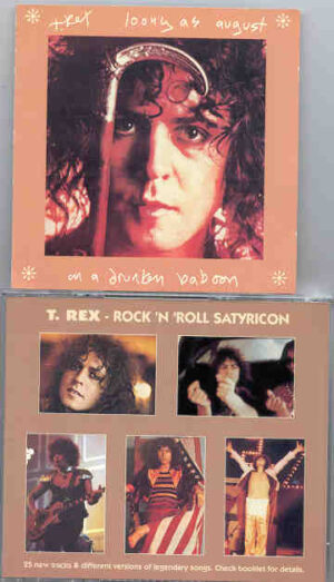T-REX - Loony as August On A Drunken Baboon ( 25 Unreleased Rare Tracks )