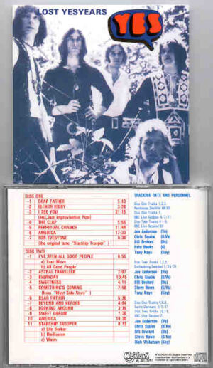 Yes - Lost Yes Years ( Highland )( 2 CD!!!!! SET ) ( BBC Sessions '69 & '71 + Live Sweden , Germany & UK )