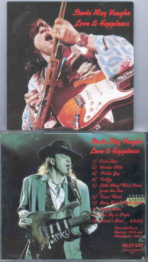 Stevie Ray Vaughan - Love And Happiness ( Montreal 1983 - Philadelphia 1984 )