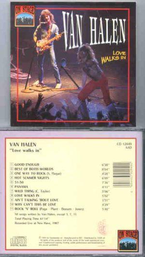 Van Halen - Love Walks In ( On Stage Recs )