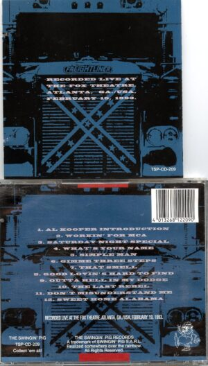 Lynyrd Skynyrd - Atlanta 1993 ( Swingin' Pig ) ( Fox Theatre , Atlanta , Georgia , USA , February 19th , 1993 )