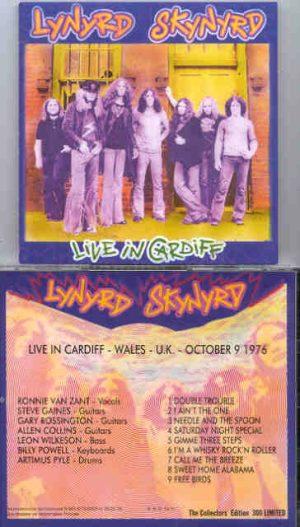 Lynyrd Skynyrd - Live In Cardiff  ( Cardiff , Wales , UK , October 9th , 1976 )
