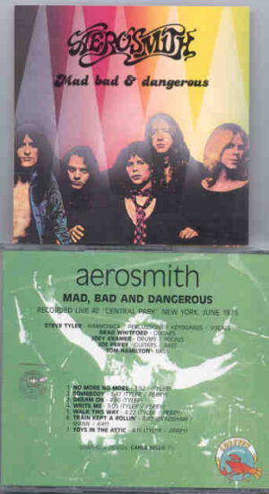 Aerosmith - Mad , Bad And Dangerous ( Live At Central Park , New York , June 1975 )
