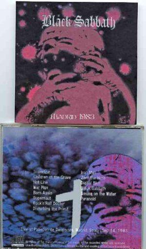 Black Sabbath - Madrid 1983 ( 2 CD!!!!! set )