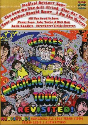 DVD The Beatles - Mangical Mystery Tour Revisited ( 2 DVD SET ) ( ALL 1967 Promos , Stereo and 5.1 Audio )