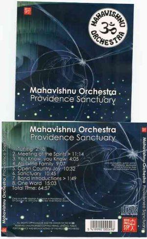 Mahavishnu Orchestra - Providence Sanctuary ( Providence , RI , USA , October 16th , 1975 )