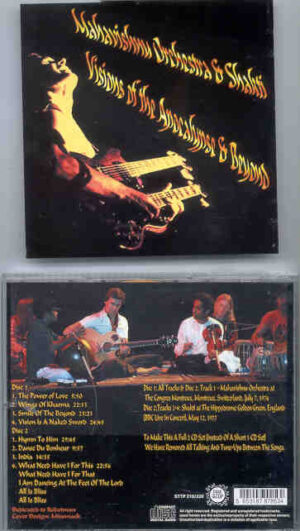 Mahavishnu Orchestra - Visions Of The Apocalypse & Beyond ( 2 CD!!!!! SET ) ( STTP ) ( Montreaux , July 7th , '74 )