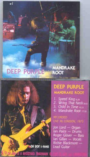 Deep Purple - Mandrake Root ( Oh Boy Recs )  ( Live in London 1973 )