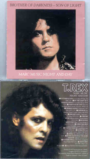 T-REX - Marc Music Night And Day ( 29 Tracks of Demos , and rare unreleased performances )