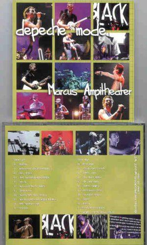 Depeche Mode - Marcus Amphitheatre ( 2 CD!!!!! SET ) ( Milwaukee , Wisconsin USA , June 20th , 2001 )