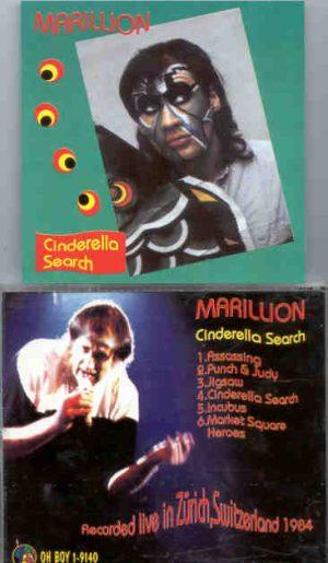 Marillion - Cinderella Search ( Oh Boy Recs. ) ( Live In Zurich , Switzerland , 1984 )