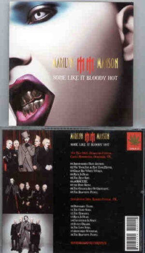 Marilyn Manson - Some Like It Bloody Hot ( Live In UK , 2001 & 2003 )