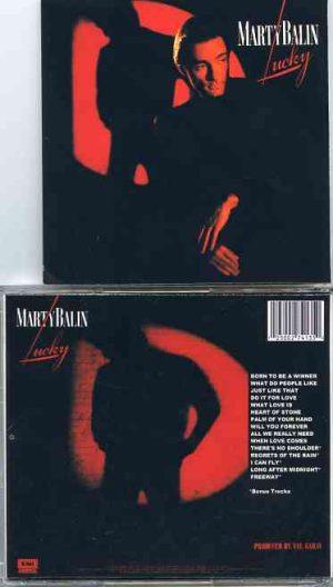 Jefferson Airplane - MARTY BALIN Lucky ( Album on CD plus Bonustracks )