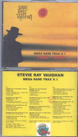 Stevie Ray Vaughan - Mega Rare Trax Vol. 1 ( 3 CD SET ) ( LOBSTER ) (  45 LIVE tracks soundboard Various venues )
