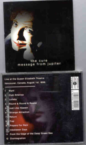 The Cure - Message From Jupiter ( Vancouver , Canada , August 1st , 1986 )
