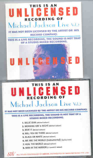 Michael Jackson - Unlicensed Vol. 2 ( European Dangerous Tour 1992 )