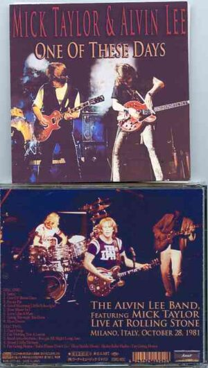 Mick Taylor - One Of These Days ( 2 CD!!!!! SET ) ( With Alvin Lee Live in Milano , Italy , October 28th , 1981 )