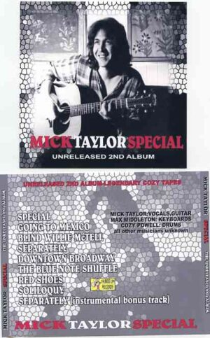 Mick Taylor - Special ( Unreleased Second Album on CD )