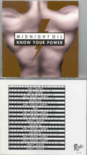 Midnight Oil - Know Your Power ( Tinley Park World Music Theater , August 7th , 1993 )