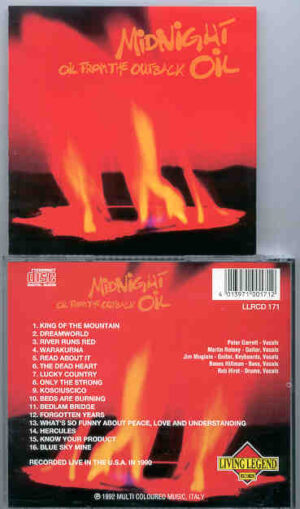Midnight Oil - Oil From The Outback ( Live in USA 1990 ) ( Living Legend )