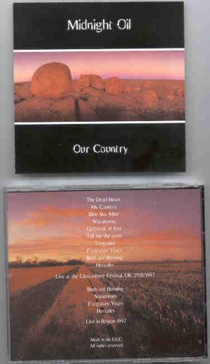 Midnight Oil - Our Country ( Live in Boston , MA , USA , 1992 )