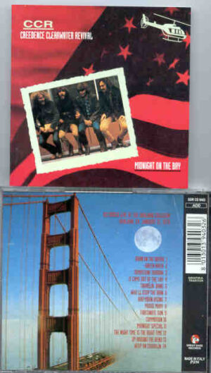 Creedence Clearwater Revival / John Fogerty - Midnight On The Bay  ( Great Dane ) ( Oakland , CA , January 31st , 1970 )