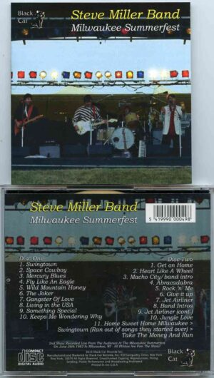 Steve Miller Band - Milwaukee Summerfest ( 2 CD!!!!! ) ( Live At Milwaukee Summerfest , Milwaukee , WI , June 26th , 1982 )
