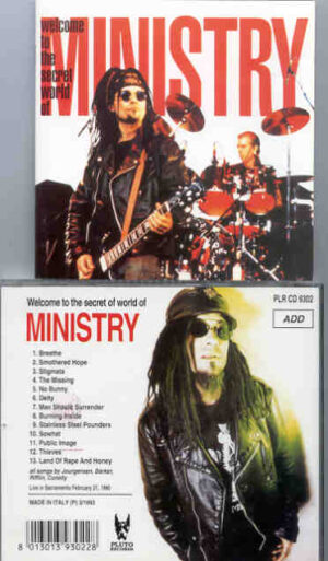Ministry -  Welcome To The Secret World ( Great Dane ) ( Live In Sacramento , CA , USA ,  Feb 27th , 1990 )