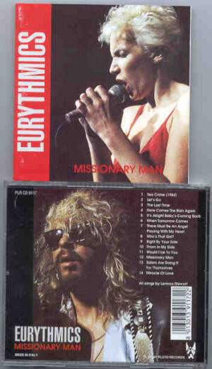 Eurythmics - Missionary Man ( Pluto Recs )