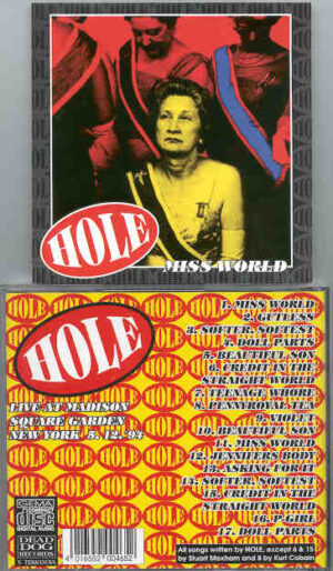 Nirvana - HOLE  Miss World  ( Madison Square Garden , New York , May 12th '94 )