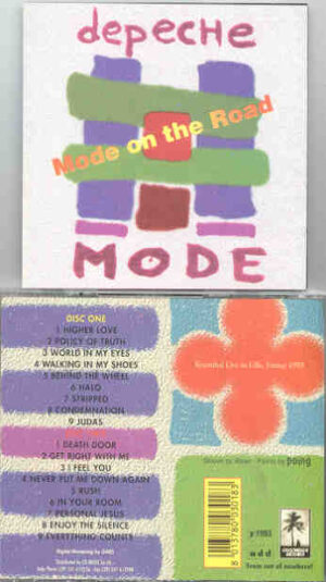 Depeche Mode - Mode On The Road ( Live in Lille , France , 1993 )