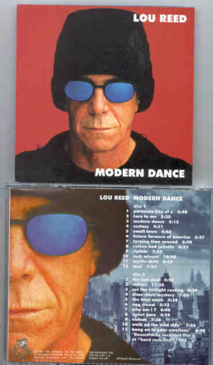 Lou Reed / Velvet Underground - Modern Dance ( Dusseldorf , Germany , April 24th , 2000 ) ( Swingin' Pig ) ( 2 CD!!!!! SET )