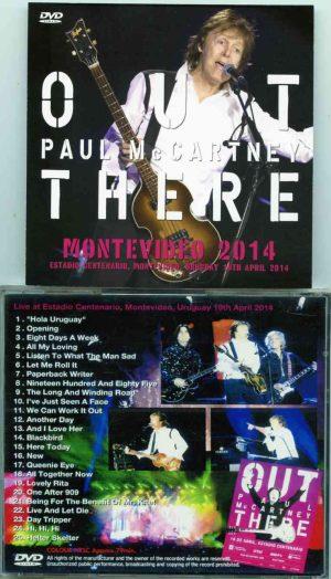DVD Paul McCartney - Montevideo 2014 (1 DVD) ( Live At Estadio Centerario, Montevideo, Uruguay 19th April 2014) (NTSC)